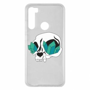 Etui na Xiaomi Redmi Note 8 Diamond skull