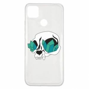 Etui na Xiaomi Redmi 9c Diamond skull