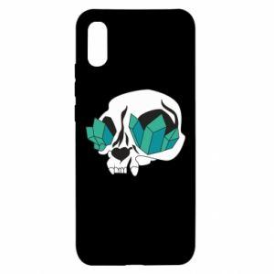 Etui na Xiaomi Redmi 9a Diamond skull