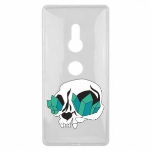 Etui na Sony Xperia XZ2 Diamond skull
