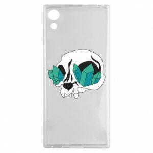 Etui na Sony Xperia XA1 Diamond skull