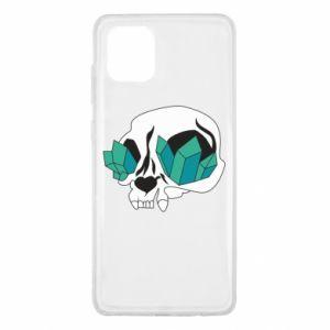 Etui na Samsung Note 10 Lite Diamond skull