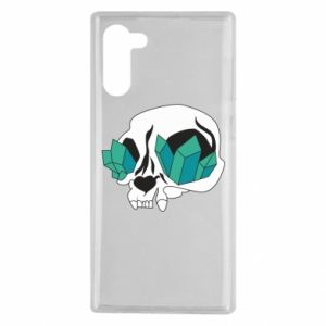 Etui na Samsung Note 10 Diamond skull
