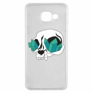 Etui na Samsung A3 2016 Diamond skull