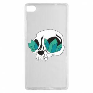 Etui na Huawei P8 Diamond skull