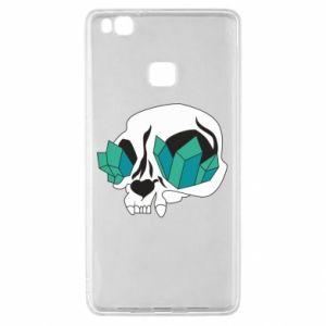 Etui na Huawei P9 Lite Diamond skull