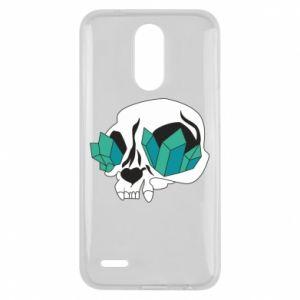 Etui na Lg K10 2017 Diamond skull