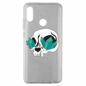 Etui na Huawei Honor 10 Lite Diamond skull