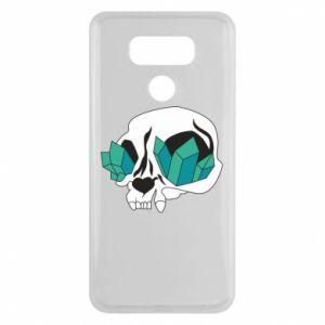 Etui na LG G6 Diamond skull