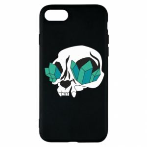 Etui na iPhone SE 2020 Diamond skull