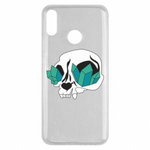 Etui na Huawei Y9 2019 Diamond skull