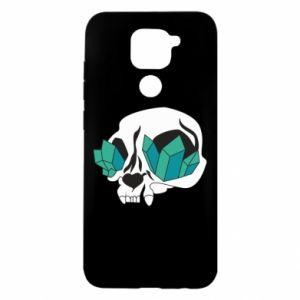 Etui na Xiaomi Redmi Note 9/Redmi 10X Diamond skull