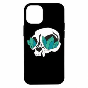 Etui na iPhone 12 Mini Diamond skull