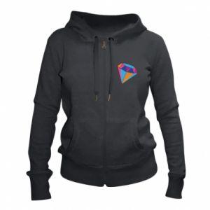 Women's zip up hoodies Diamond