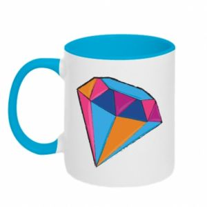 Two-toned mug Diamond