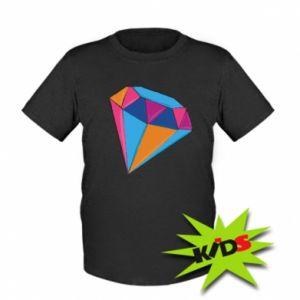 Dziecięcy T-shirt Diament