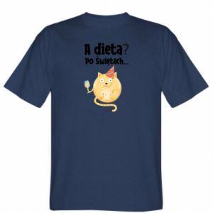 Koszulka męska Dieta? po Świętach