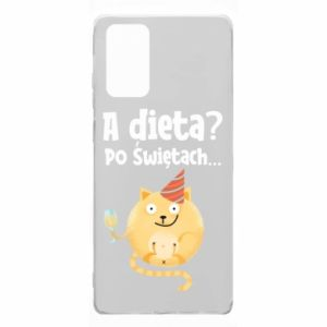 Etui na Samsung Note 20 Dieta? po Świętach