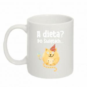 Mug 330ml Diet? after Christmas