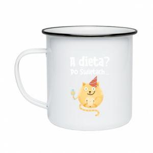 Enameled mug Diet? after Christmas