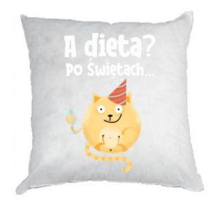 Poduszka Dieta? po Świętach