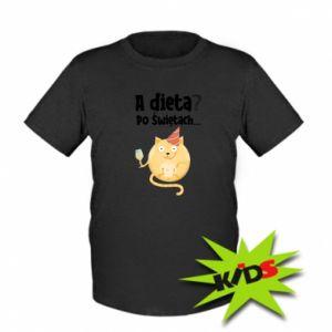 Kids T-shirt Diet? after Christmas