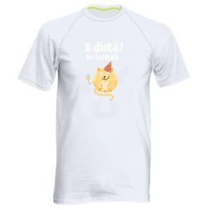 Koszulka sportowa męska Dieta? po Świętach