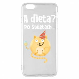 Phone case for iPhone 6 Plus/6S Plus Diet? after Christmas