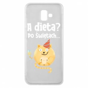Phone case for Samsung J6 Plus 2018 Diet? after Christmas