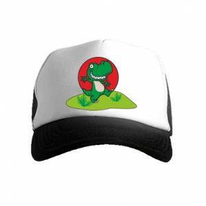 Kid's Trucker Hat Dino