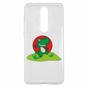 Nokia 5.1 Plus Case Dino