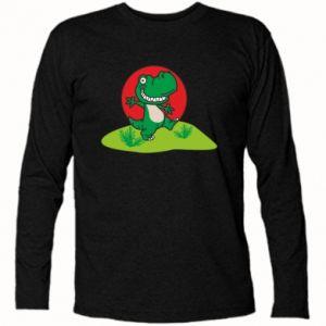 Koszulka z długim rękawem Dino