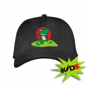 Dziecięca czapeczka z daszkiem Dino