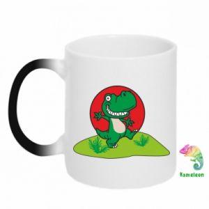 Kubek-kameleon Dino