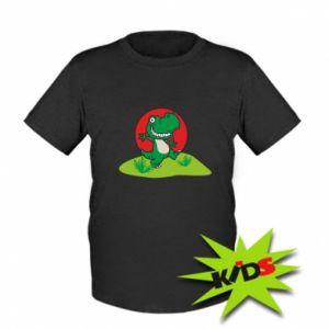 Dziecięcy T-shirt Dino