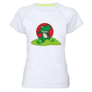 Women's sports t-shirt Dino