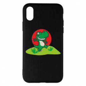 iPhone X/Xs Case Dino