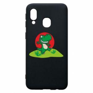 Samsung A40 Case Dino