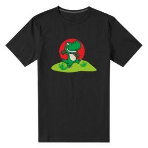 Męska premium koszulka Dino