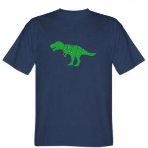 T-shirt Dinosaur in a garland