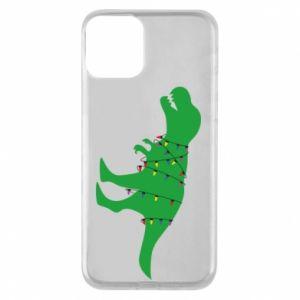 iPhone 11 Case Dinosaur in a garland