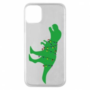Etui na iPhone 11 Pro Dinozaur w girlandzie