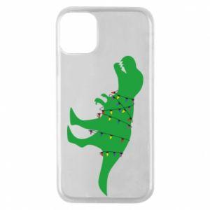 iPhone 11 Pro Case Dinosaur in a garland