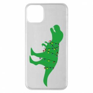 Etui na iPhone 11 Pro Max Dinozaur w girlandzie