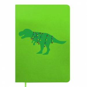 Notepad Dinosaur in a garland