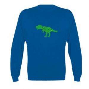 Kid's sweatshirt Dinosaur in a garland
