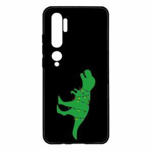 Etui na Xiaomi Mi Note 10 Dinozaur w girlandzie
