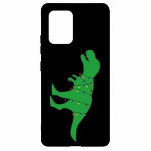 Samsung S10 Lite Case Dinosaur in a garland