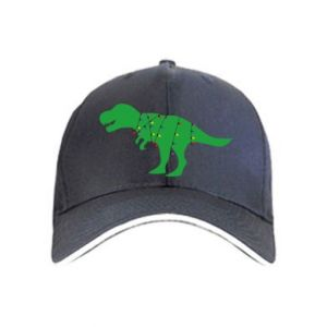 Cap Dinosaur in a garland