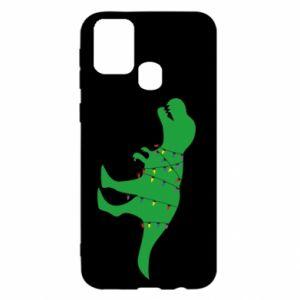 Samsung M31 Case Dinosaur in a garland